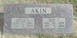 Roxie L. <i>Kemper</i> Akin