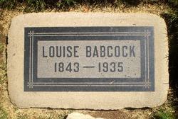 Louise C. <i>Fellows</i> Babcock
