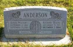 Donna <i>Williams</i> Anderson