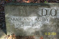 Sarah Ann <i>Ashby</i> Doss