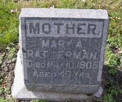 Mary A. <i>Kuchata</i> Ratterman
