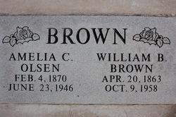 Amelia Christina <i>Olsen</i> Brown