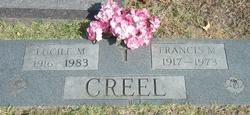 Francis Milton Coach Creel
