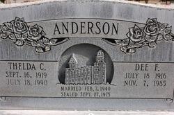 Thelda <i>Christensen</i> Anderson