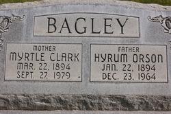 Hyrum Orson Bagley