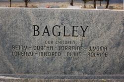 Irene Marie <i>Brown</i> Bagley