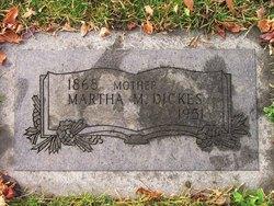 Martha May Mattie <i>Peer</i> Dickes