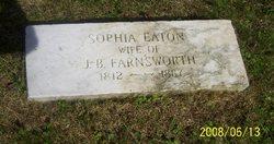 Sophia <i>Eaton</i> Farnsworth