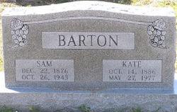 Susan Catherine Kate <i>Sanders</i> Barton