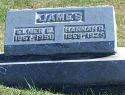 Hannah R <i>Clewell</i> James