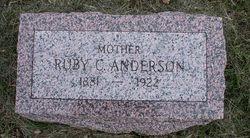 Ruby <i>Clark</i> Anderson