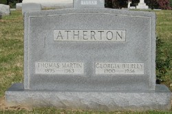 Georgia May <i>Bierley</i> Atherton