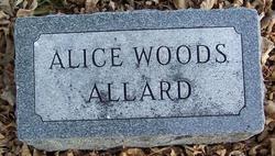 Alice <i>Grove</i> Woods Allard