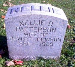Nellie D. <i>Patterson</i> Johnson