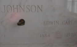 Edwin Carl Big Ed Johnson