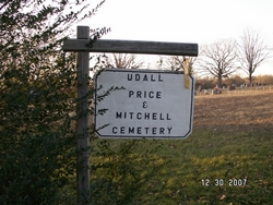 Udall Price and Mitchell Cemetery