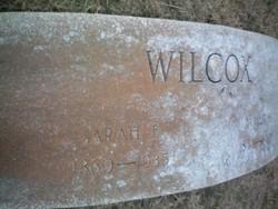Sarah Elizabeth <i>Bradley</i> Wilcox