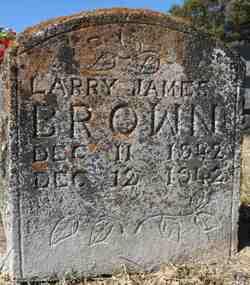 Larry James Brown