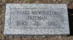 Pearl <i>McWherter</i> Freeman