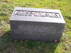 Margaret Alice <i>Watterson</i> McKay
