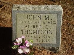 Infant John M. Thompson