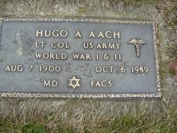 Dr Hugo Aach