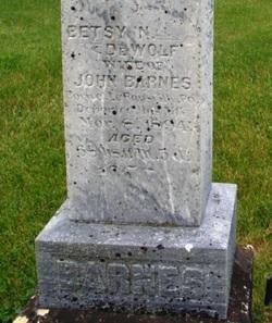 Betsy N. <i>DeWolf</i> Barnes