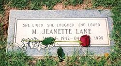 Mary Jeanette Lane