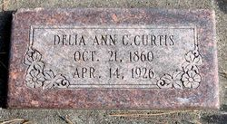 Delia Ann <i>Crockett</i> Curtis