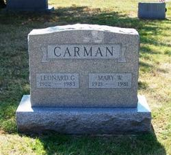 Leonard G Carman