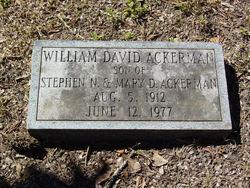 William David Ackerman