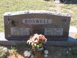 Mattie Nell Dickens <i>Bonds</i> Boswell