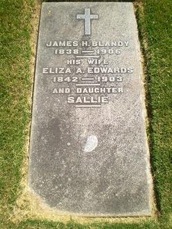 Eliza A. <i>Edwards</i> Blandy