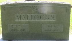 Julia E Mattocks