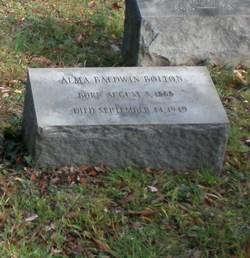 Alma Baldwin Bolton