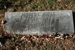Aubrey C Jones