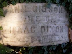 Ann <i>Gibson</i> Dixon