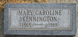 Mary Caroline Kennington