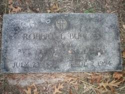 Pvt Robert Lee Burgess