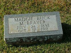 Madgie <i>McBrayer</i> Buck