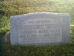 Catherine Marie Allen