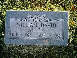William David Billie Allen