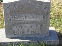 Cheslie E McFarland