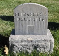 Elizabeth <i>Foster</i> Belliston