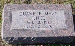 Duane Fredrick Duke Maas