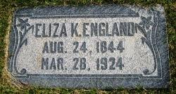 Eliza <i>Kennington</i> England