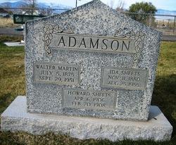 Ida <i>Sheets</i> Adamson