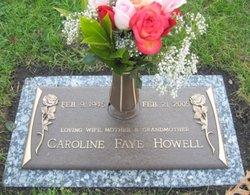 Caroline Faye <i>Owens</i> Howell