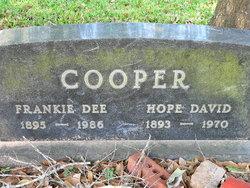 Hope <i>David</i> Cooper