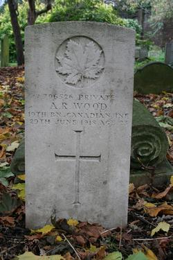 Private Arnold Ralph Wood